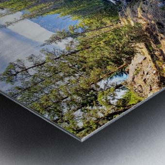 Icicle Gorge Trail Metal print