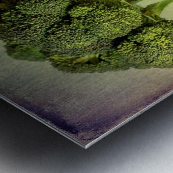 In a glass Metal print
