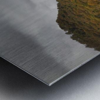 The Carreg Ddu reservoir Metal print