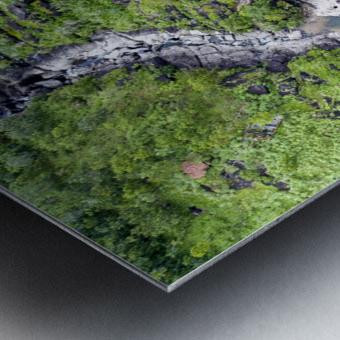 Vale da Lua Metal print