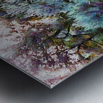 Colorful Olive Grove Metal print