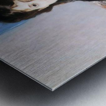 Portrait of Madame Pontillon Metal print