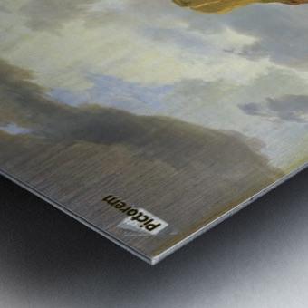 Surf on a Rocky Coast Metal print