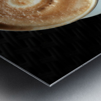 Uno Cappuccino Metal print
