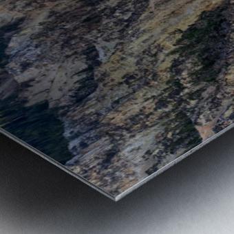 Yellowstone National Park Lower Falls Metal print