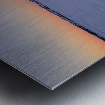 Heure bleue Impression metal