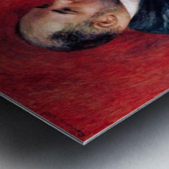 Portrait of Vollard by Renoir Metal print
