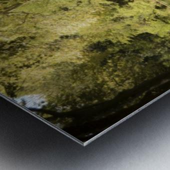 Canal  Carcassone Metal print