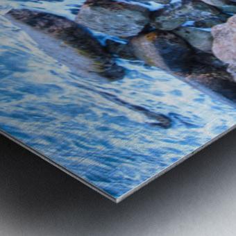 Rugged Coast Metal print