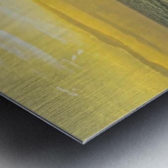 Waves at Sunset Metal print