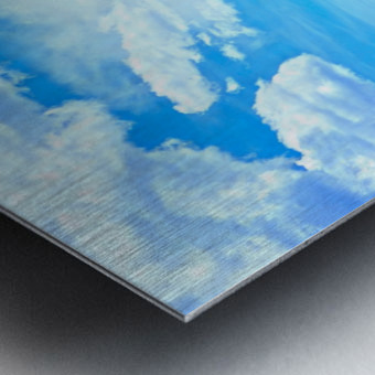 Painted Skies Over the Sawatch Metal print