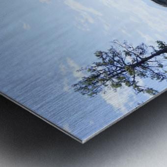 On the Lake - Tahoe California USA Metal print