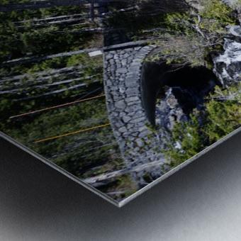 From Bridge to Stream Metal print