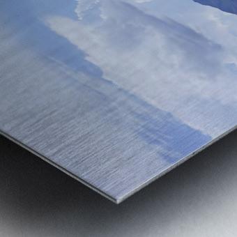 The Great Salt Lake 3 of 7 Metal print