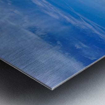The Great Salt Lake 6 of 7 Metal print
