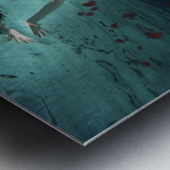 Ocean of Roses Metal print