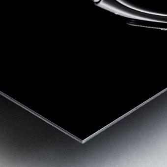 Silhouette by Alvaro Perez  Metal print