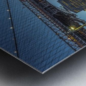 New York - Blue Hour over Manhattan Metal print