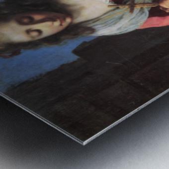 Saint Praxedis by Vermeer Metal print