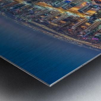 Dubai Colors of Night Metal print