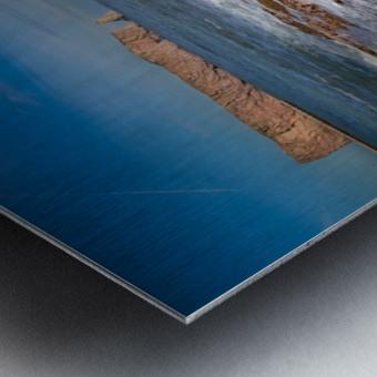 Ecume Perce Metal print