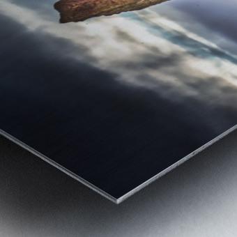 Cap Mont-Joli et son Rocher Perce Metal print