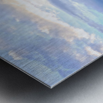 Mont St Michael Rising Tide - France Metal print
