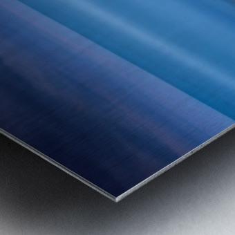 Blue night 2 Metal print