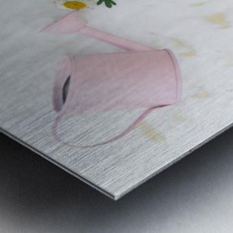 Daltana Spring Griall Metal print
