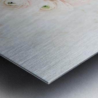 Daltana Spring Frill Metal print