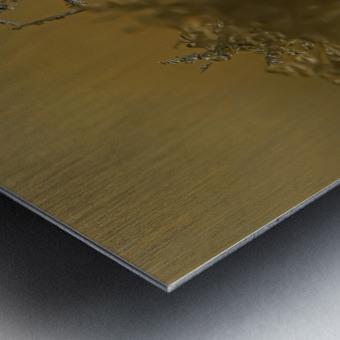 En  equilibre Metal print