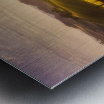 Waves of Light by Javier de la Metal print
