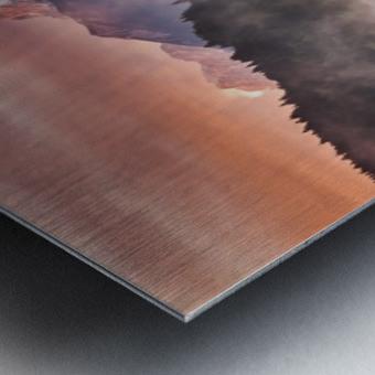Sunrise at the Lake Metal print