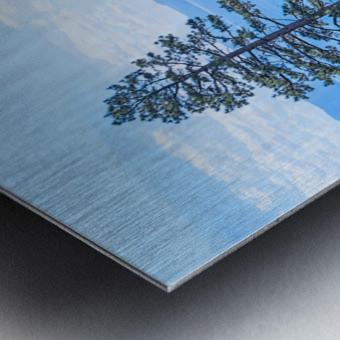 To the Horizon Metal print