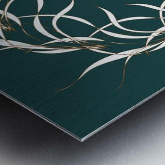 wintermandala Metal print