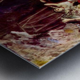 Stage trial by Degas Metal print