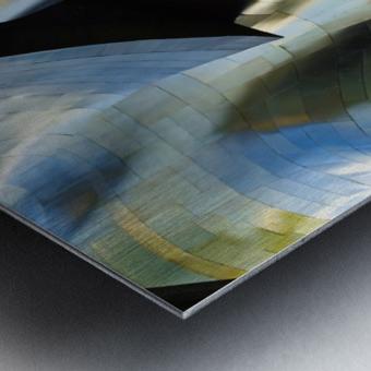 Organic Metal 3 by David Reams  Metal print