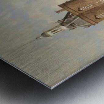 Haven van Enkhuizen Metal print