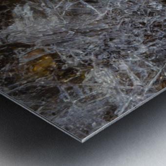 Ice Patterns ap 1730 Metal print