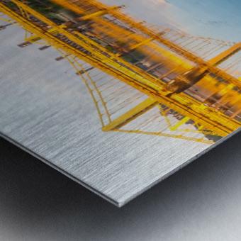 Barge Cleat ap 2877 Metal print