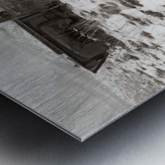 Step Side ap 1734 B&W Metal print