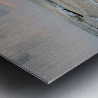 Lake Michigan ap 2415 Metal print