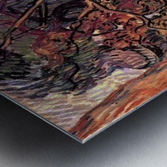Study of Pine Trees by Van Gogh Metal print