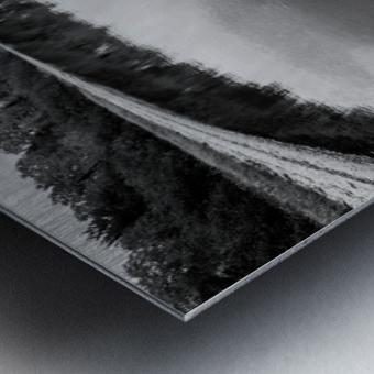 Reflection ap 2595 B&W Metal print