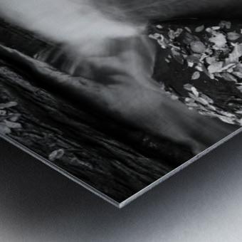 Roaring Run ap 1961 B&W Metal print