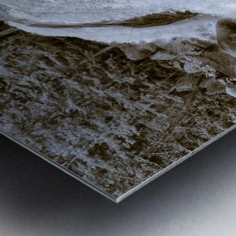 Waterfall ap 2212 B&W Metal print