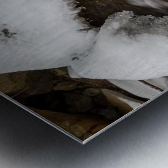 Ice ap 2726 B&W Metal print