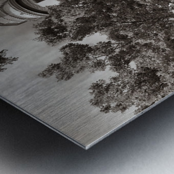 Marblehead Lighthouse ap 2400 B&W Metal print