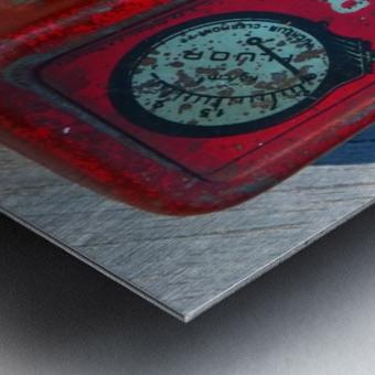 Fluor Metal print