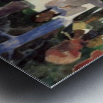 Ta Matete by Gauguin Metal print